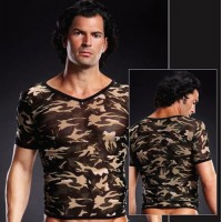 Pro-Mesh V-Neck Tee Camouflage S/M