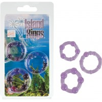 Island Rings - Purple