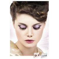 Baci Eyelashes - Реснички Black-Yellow Deluxe Eyelashes