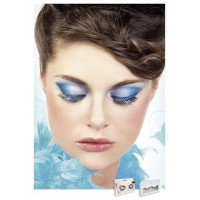 Baci Eyelashes - Реснички Yellow Deluxe Eyelashes