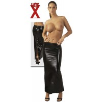 Юбка из латекса Latex Rock lang mit Zip